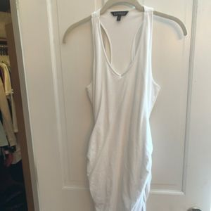 Express Rouched Racerback Tank Dress